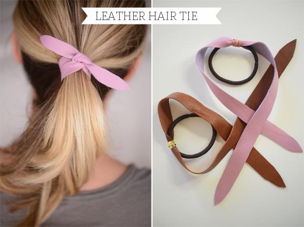 Как можно сделать резинки для волос своими руками