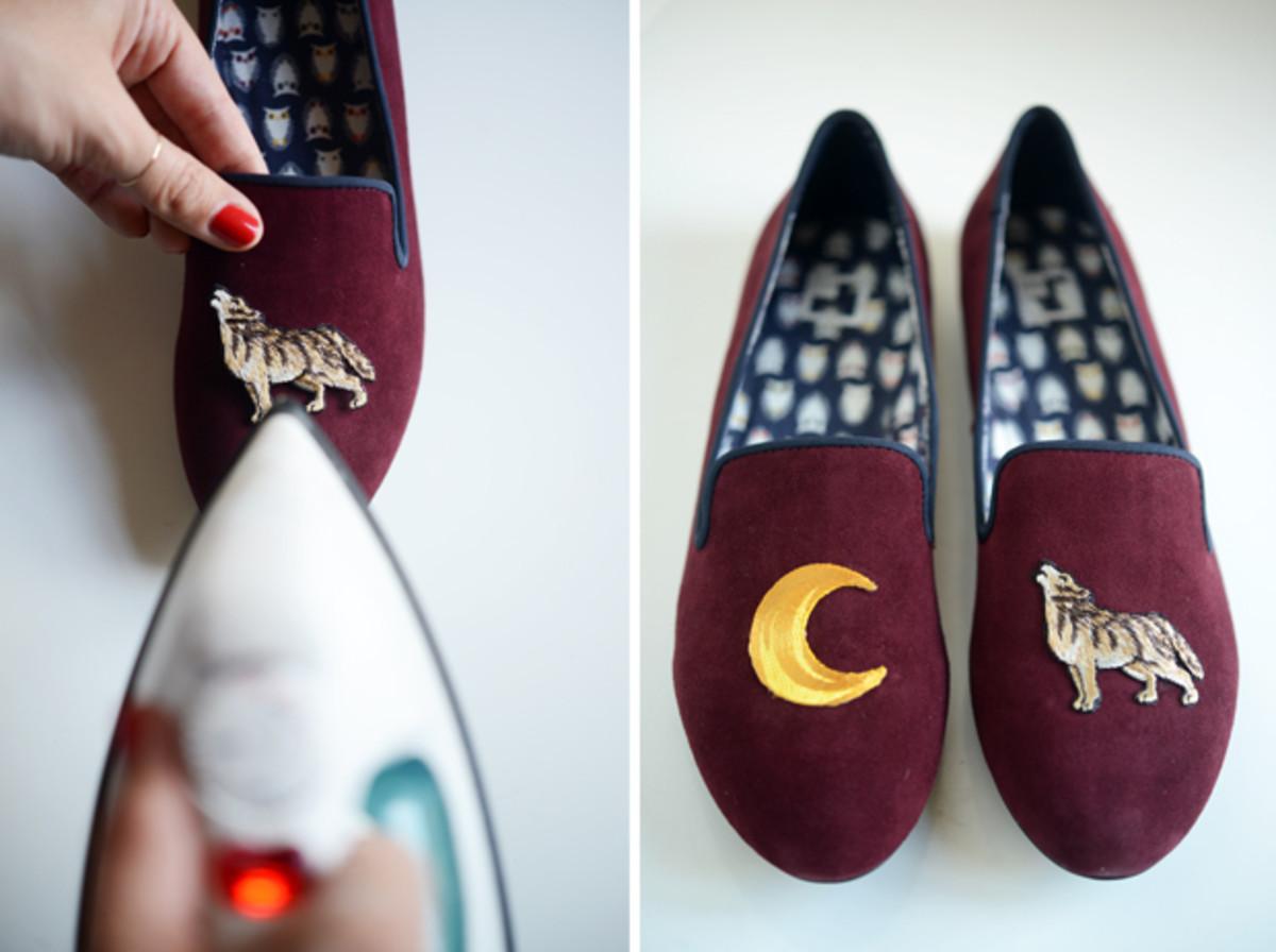 Своими руками декор обуви