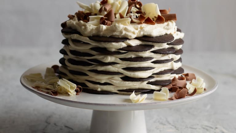 Chocolate Wafer Icebox Cake