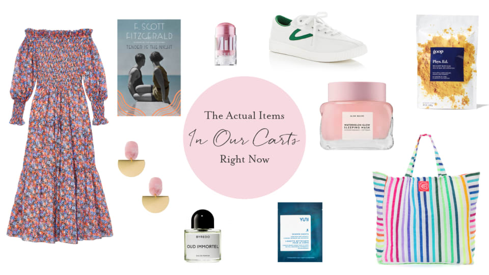 Editor Takeover: The Actual Items in Our Carts Right Now