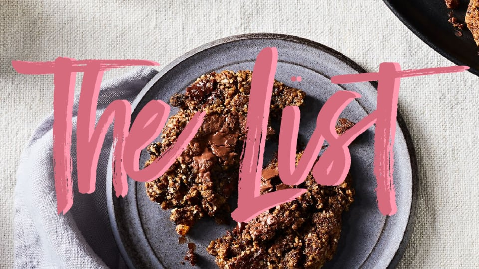 The List: The Gingery One-Bowl Fall Cookies You Need to Make Right Now