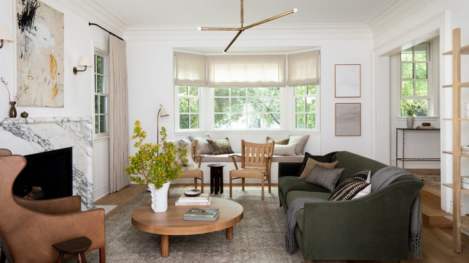 House Reveal: How We Used Earth Tones to Create a Warm, Inviting Living Room