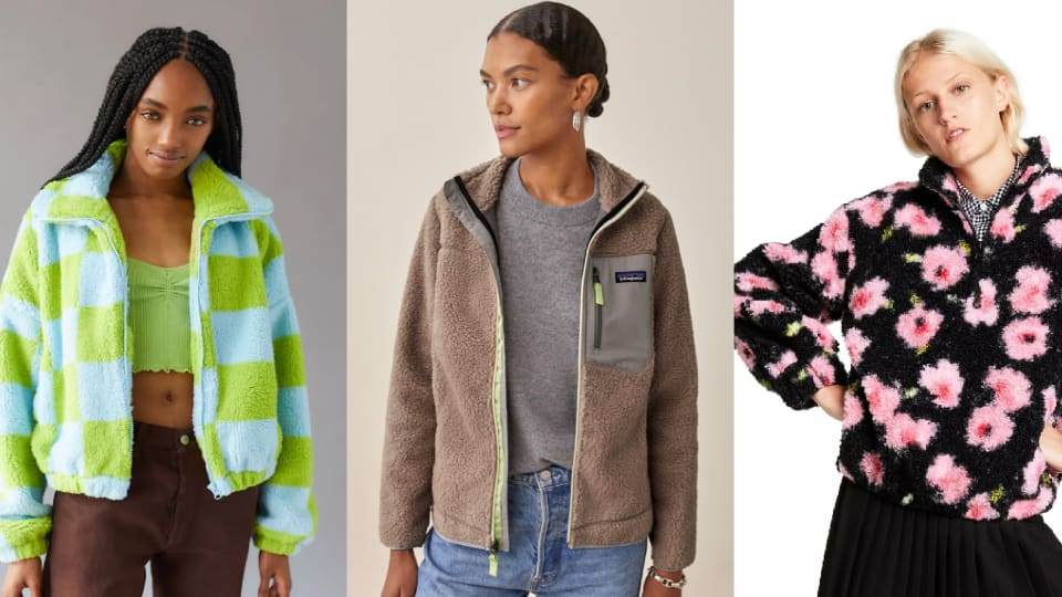 10 Fleece Jackets and Sweaters That Will Help You Have the Coziest Fall