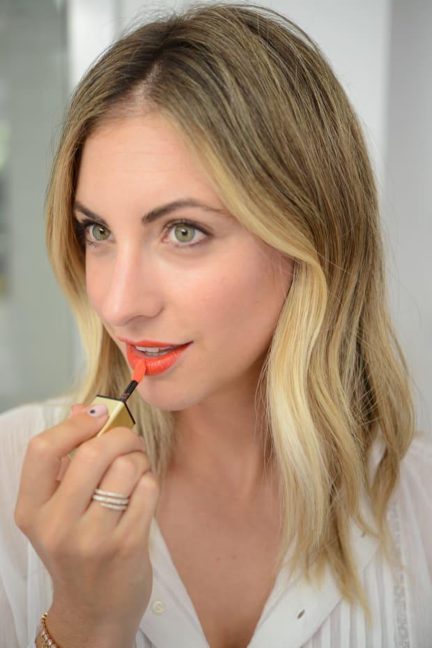 Beauty Trial Lipstain YSL.JPG