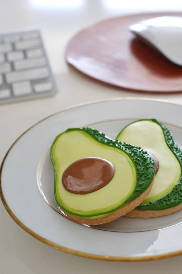 Avocado Cookies4