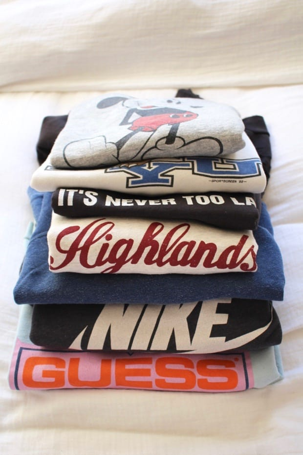 vintage sweatshirt opener