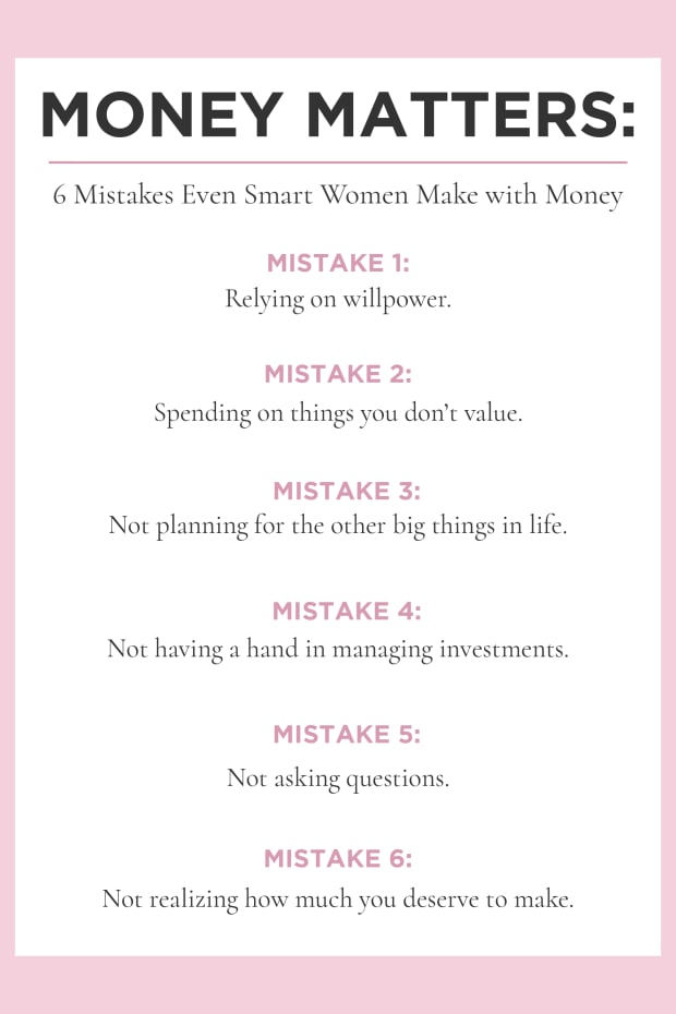 6 Mistakes Even Smart Women Make with Money _Promo