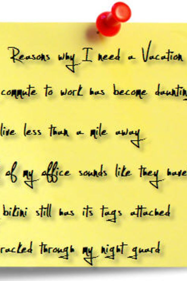 post-it-vacation