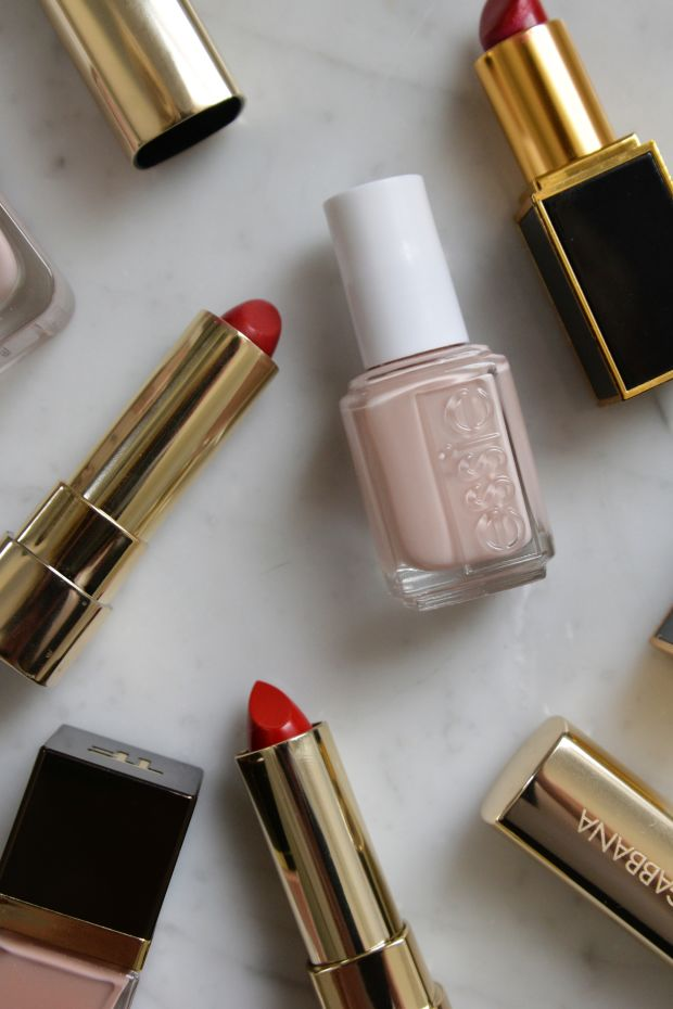 red + nude