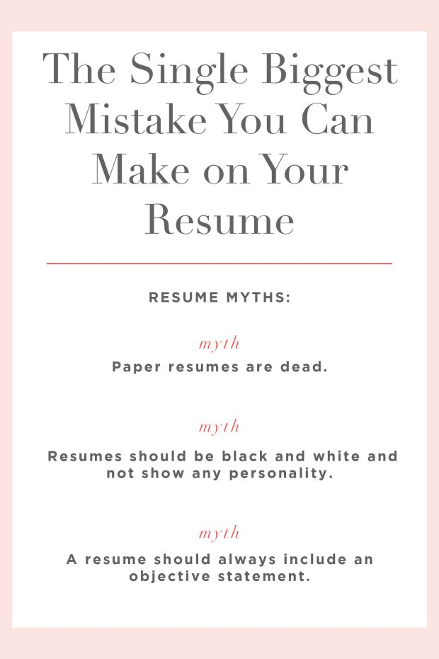 The Single Biggest Mistake You Can Make on Your Resume_Promo