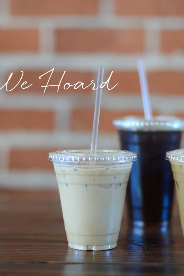 coffee talk what we hoard