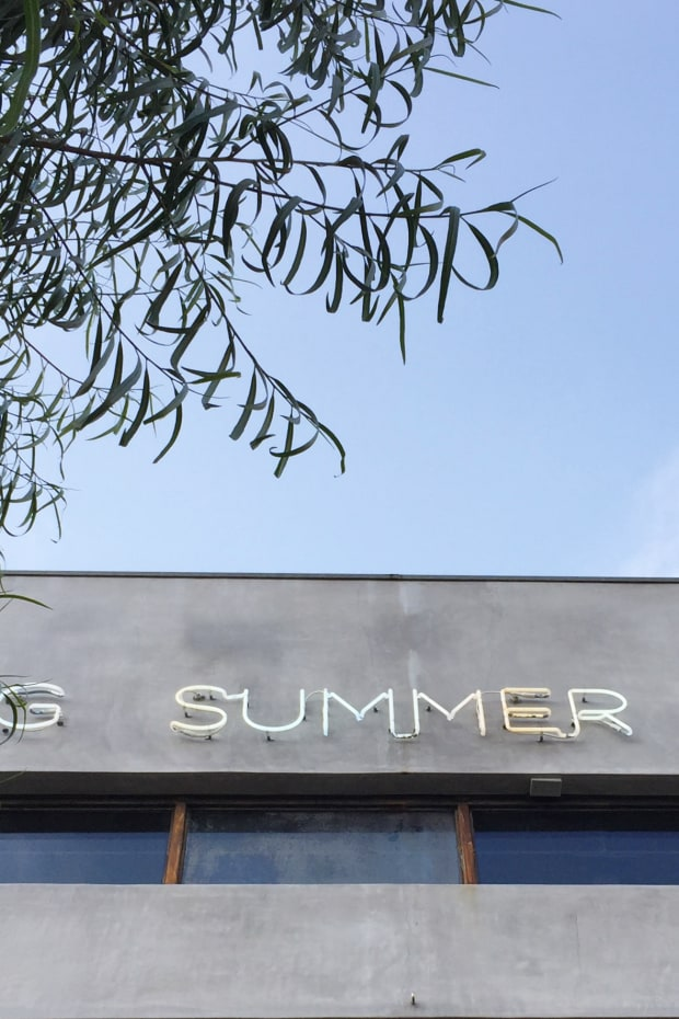 Neon Summer Sign