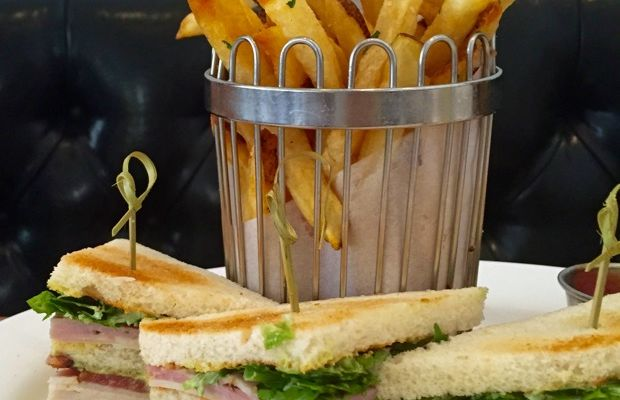 One of the best Club Sandwiches, at Bottega Louie