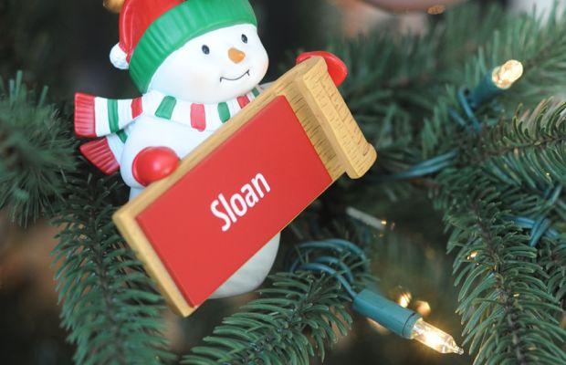 Sloan's snowman