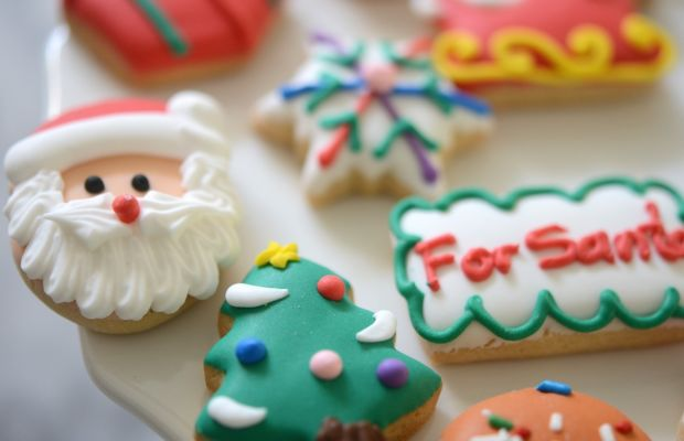 {The cutest holiday cookies}