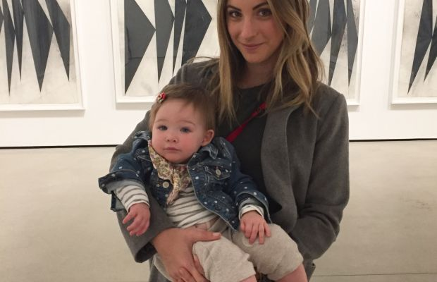 {Sloan's first museum trip}