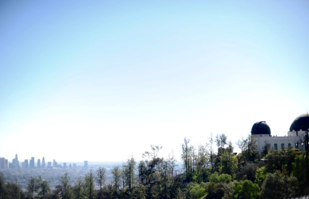 {Griffith Park on the prettiest spring-like day}