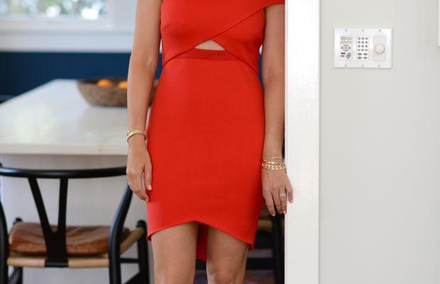 Bec & Bridge Dress (similar here), Zara Sandals