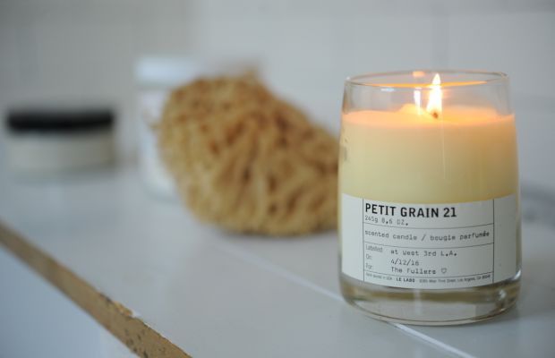 {One of my favorite springtime scents - particularly while in the bath}
