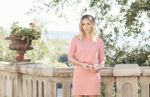 Cupcakes and Cashmere dress and jacket (similar here)