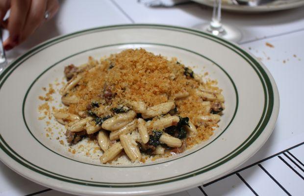 {Team lunch at Jon & Vinny's, starring this pasta}