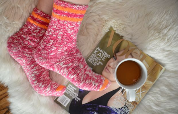 {The best cozy socks for lounging}