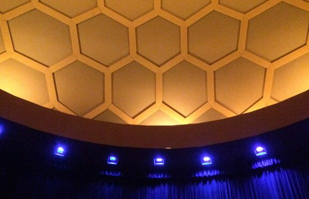 {The Arclight Cinerama Dome for the morning showing of The Hobbit}