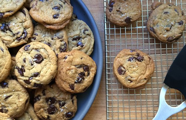 {The Best Chocolate Chip Cookies EverI brought to my friend's Emmys party}