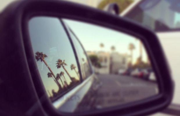 {A classic L.A. view via Instagram}