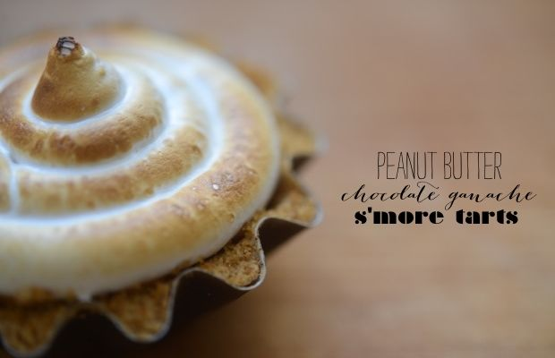 peanut-butter-chocolate-ganache-smore-tarts