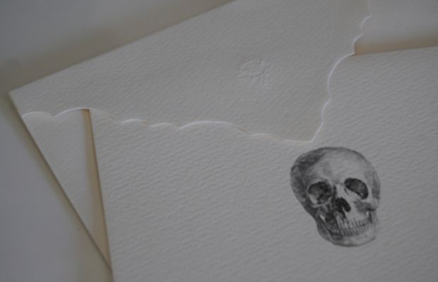 {D.L. & Co. Skull Stationery - purchased through Gilt Groupe}