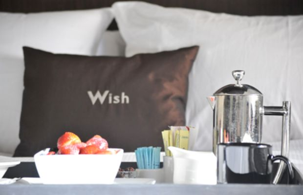 {Breakfast in bed at W New York}