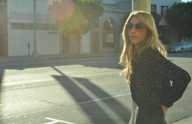 UO Top, Vintage Lanvin Sunglasses (seenHERE), UO Skirt, Coach Bag, Alberta Feretti Sandals