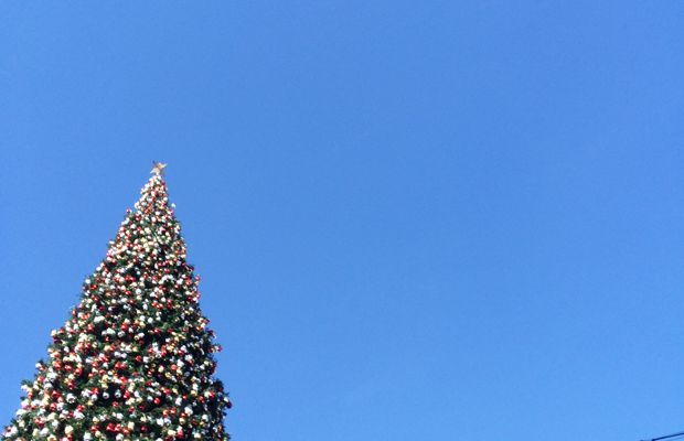 {Christmas time in L.A.}