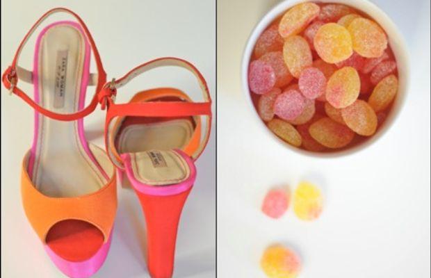 {Zara + Gummy Peaches and Cherries}