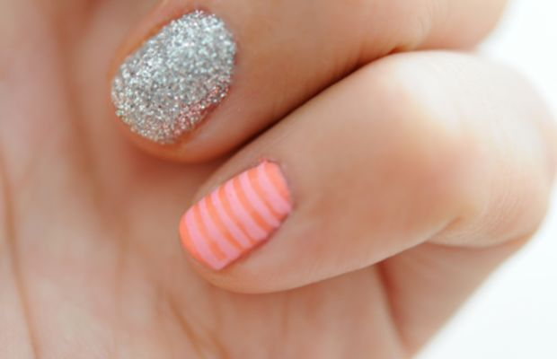 {...or little stripes on your pinky}
