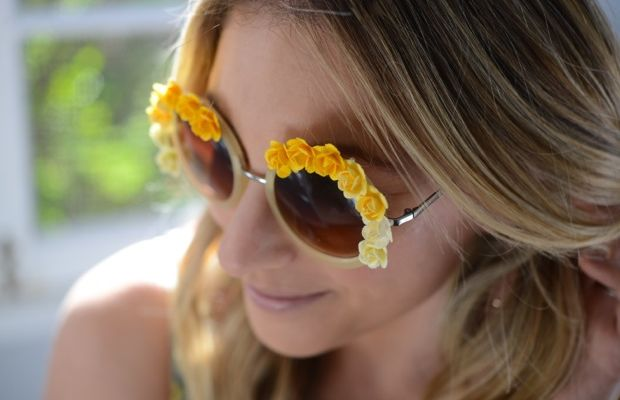 yellow-floral-sunglasses