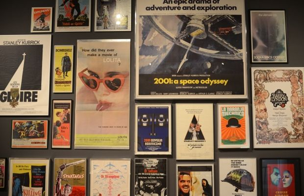{Movie posters that offer a glimpse of his eclectic work}