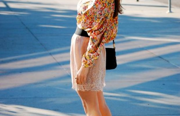 H&M Top, Urban Outfitters Skirt, Marc Jacobs Bag, Seychelles Heels, Vintage Jewelry