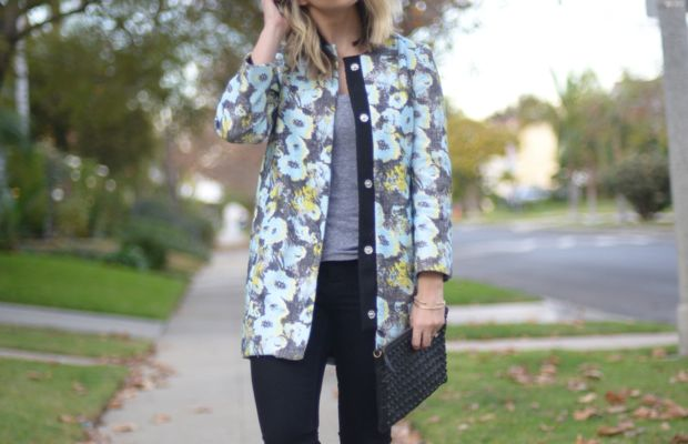 Topshop Coat, Monrow Tank, Madewell Jeans, H by Hudson Boots, Topshop Clutch
