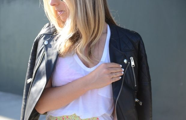 {Best investment: my leather jacket}