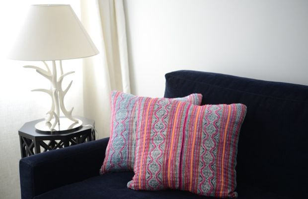 {New family room pillows from Amber's shoppe (use code CUPCAKE10 for 10% off everything}