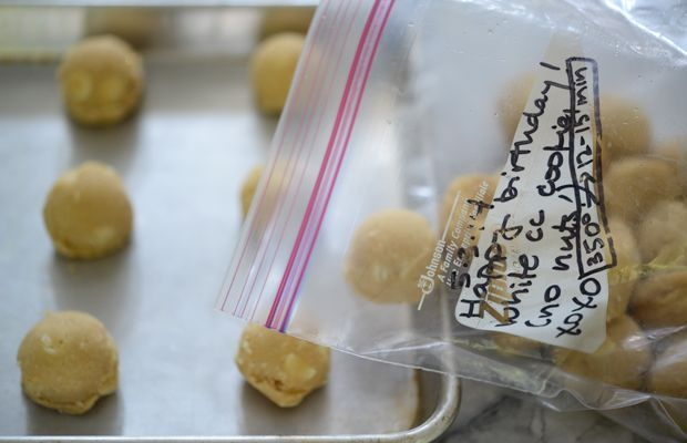 {The best gift from Rach: ready-to-bake frozen cookies}