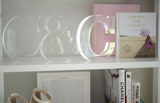{Lucite letters for the office}