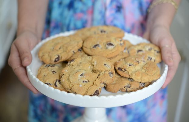 {Fresh cookies to finish off the week}