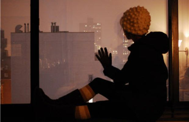 {watching the blizzard from my room}