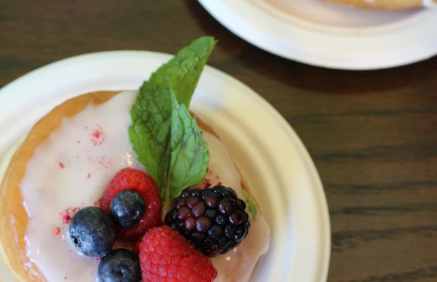{Berry donuts from Donut Friend}