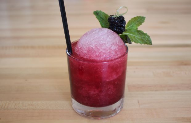 {Snow cone cocktail}