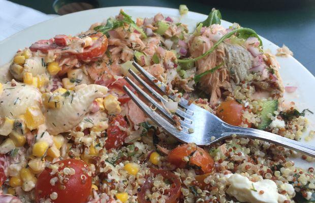 Salad trio at Thyme