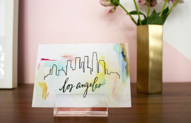 {A cute card from a long-distance friend}
